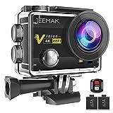 JEEMAK Action Camera 4K 16MP Underwater Cam WiFi Waterproof 30m 170° Wide Angle Len 2