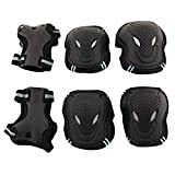 Adult/Child Skateboard Roller Skating Elbow Knee Wrist Protective Safety Gear Pad Guard 6pcs Set