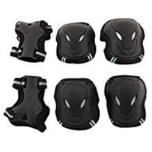 Adult / Child Skateboard Roller Skating Elbow Knee Wrist Protective Safety Gear Pad Guard 6pcs Set
