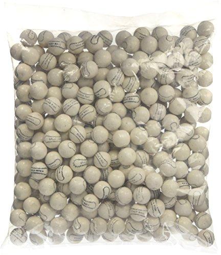 Gumballs By The Pound - 2 Pound Bag of White Baseballs