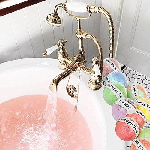 USA Bath Bombs Gift Set. 12 Premium Lush Bath Bomb,Dry Skin Moisturize, Perfect for Bubble & Spa Bath Gift Set.Handmade Bath Bombs for Birthday Gift idea For Her/Him, wife, girlfriend, men, women