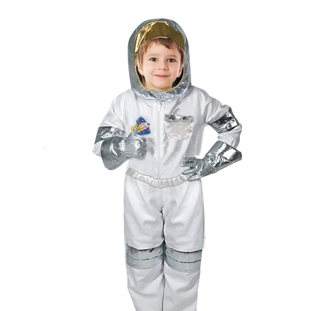 Amazon.com: Luerme Astronaut Role Play Costume Set for Kids ...