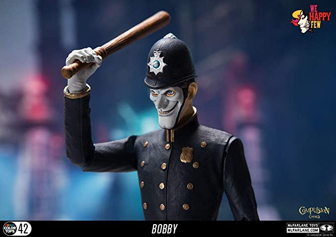 Toys We Happy Few The Bobby Collectible Action Figure
