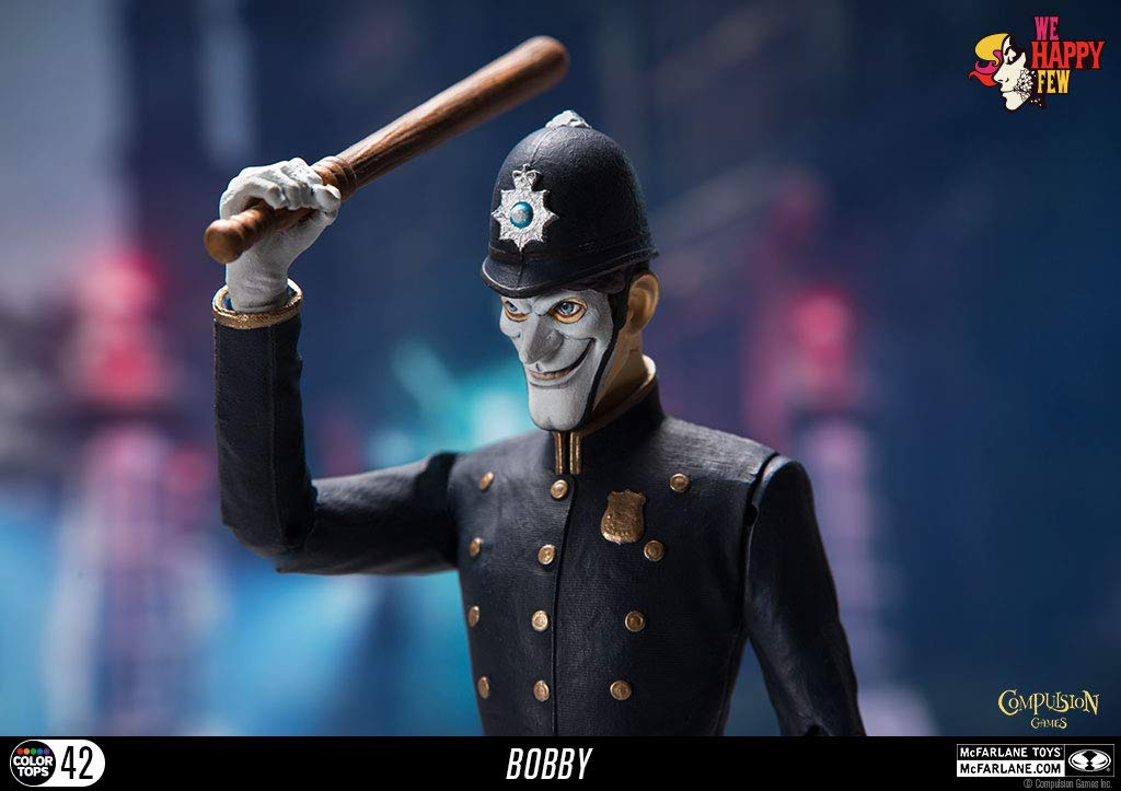 McFarlane Toys We Happy Few The Bobby 7-Inch Action Figure 13016-4 Action Figures