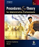 img - for Procedures and Theory for Administrative Professionals (with CD-ROM) book / textbook / text book