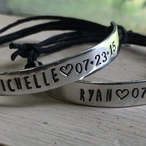 custom bracelets for couples - 2