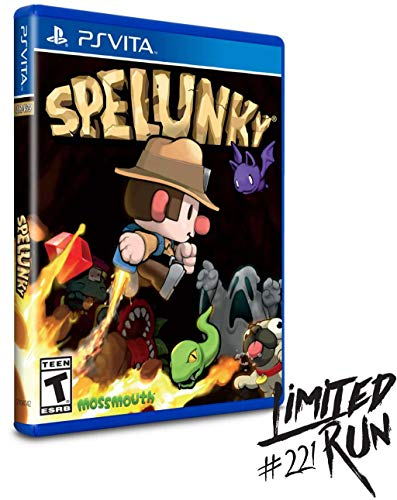 Spelunky (Limited Run #221) - PlayStation Vita (Spelunky Game)