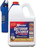 30 SECONDS Outdoor Cleaner, 1.3 Gallon - Ready-to-Use with Motorized Power Sprayer