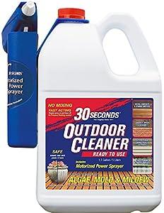 Amazon.com : 30 SECONDS Outdoor Cleaner, 1.3 Gallon ...