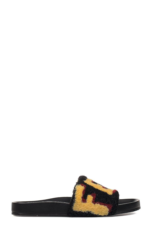 7f825b4959ec Fendi Homme 7X1093TKBF05ST Noir Cuir Sandales  Amazon.fr  Chaussures et Sacs