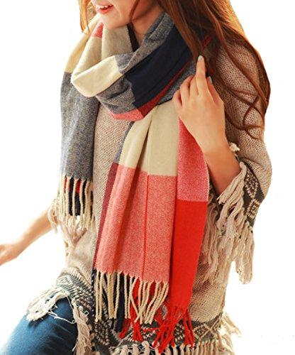 HIMONE Womens Fashion Winter Lattice
