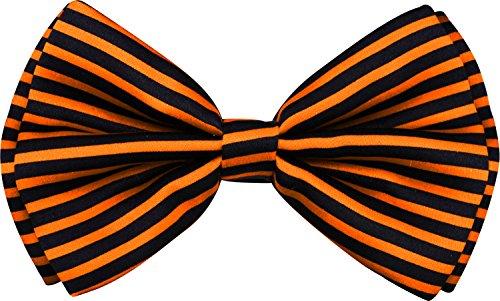 (Enimay Halloween Pre-Tied Bow Ties Orange)