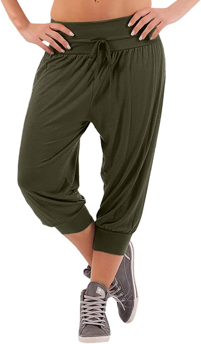 Amazon.com: Pantalones cortos Eaktool para yoga, para mujer ...