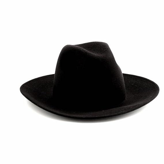 59b416ab790dd Cult - Chapeau - Femme noir noir Medium: Amazon.fr: Vêtements et ...