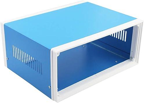 TONGXU Caja de Conexiones de Metal Electrónica 250 x 190 x 110 MM Metal y Plástico Caja de Conexiones de Almacenamiento para Proteger Componentes Eléctricos: Amazon.es: Bricolaje y herramientas