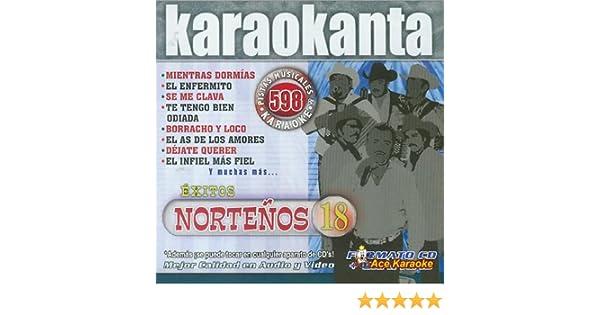 Amazon.com: Karaokanta KAR- 4598 - Nortenos 18 - Spanish CDG Various: Musical Instruments