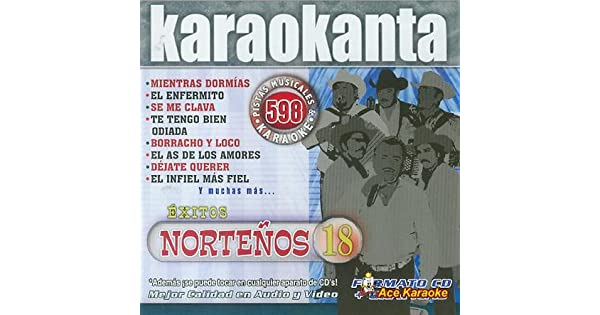 Amazon.com: karaokanta kar- 4598 – nortenos 18 – Spanish CDG ...