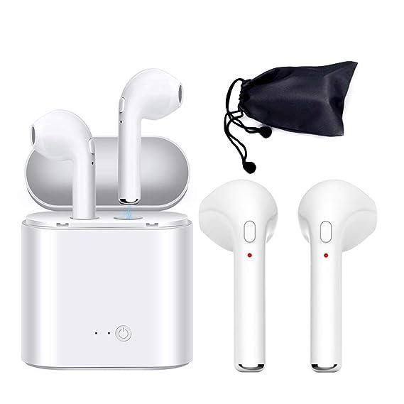 cd3ece6431a Auriculares Bluetooth con calidad de sonido estéreo, compatibles con todos  los dispositivos que tengan Bluetooth