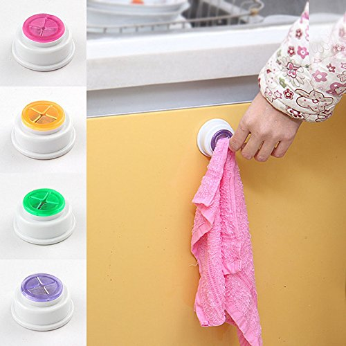 owel Rack - Bath Towel Rack - 1PCS Wash Cloth Clip Holder Clip Dishclout Storage Rack Towel Clips Hooks Bath Room Storage Hand Towel Rack ()