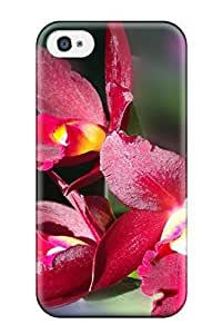 Iphone 4/4s Case PC Cover Back Skin Protector Flower