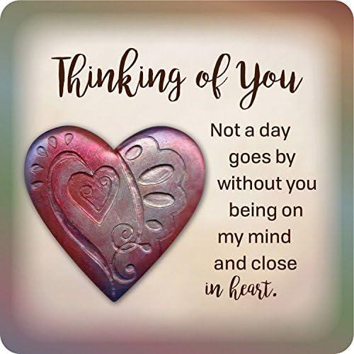 Faithworks Heart Magnetic Plaque Thinking