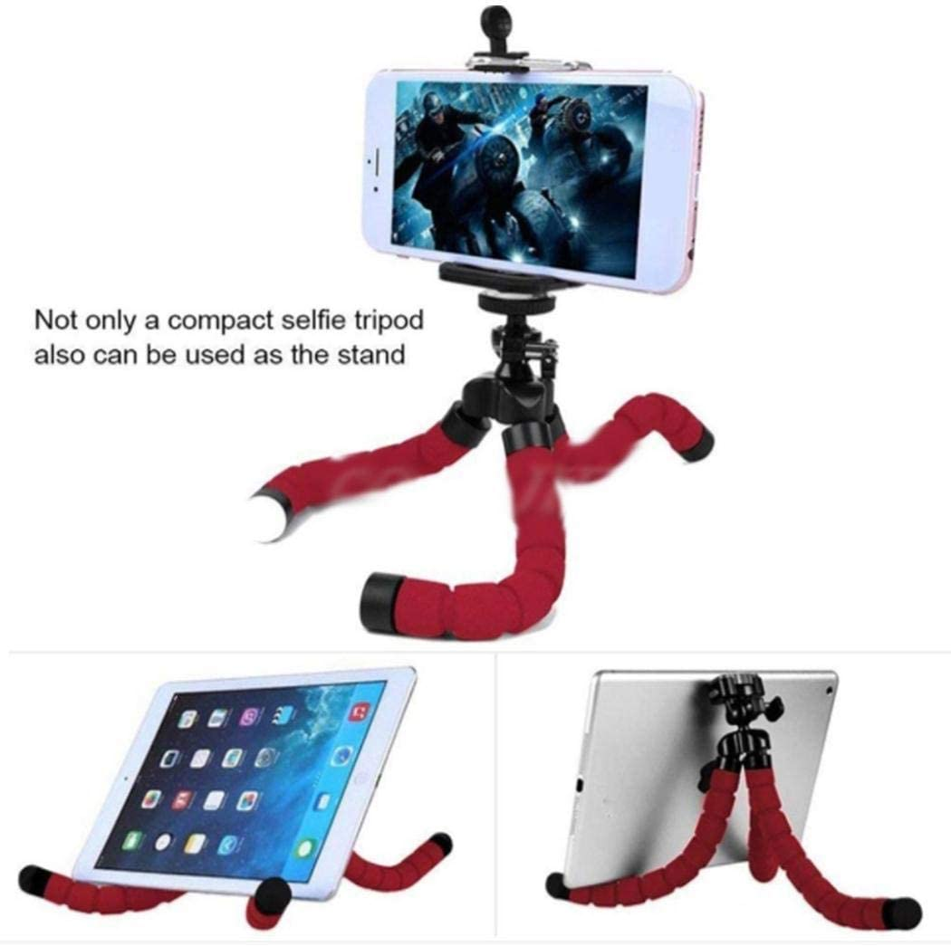 Eubell Phone Tripod Lightweight. Sponge Octopus Mini Tripod Phone Stand for Phone Mini Camera Heavy Duty Aluminum