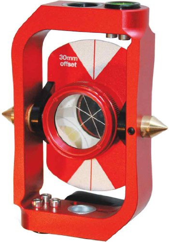 SitePro 03-1518-R Mini Prism Sliding Pole System, Red