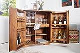 Casa-Padrino Bar wine cabinet 90 x 50 x H100 cm - Whiskey cabinet bar Antique style - Art Nouveau style