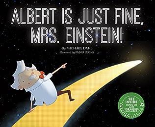 book cover of Albert Is Just Fine, Mrs. Einstein