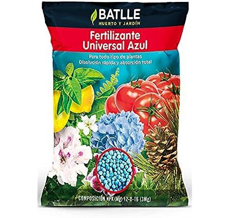 Abonos - Fertilizante Universal Azul Bolsa 800 g. - Batlle: Amazon.es: Jardín