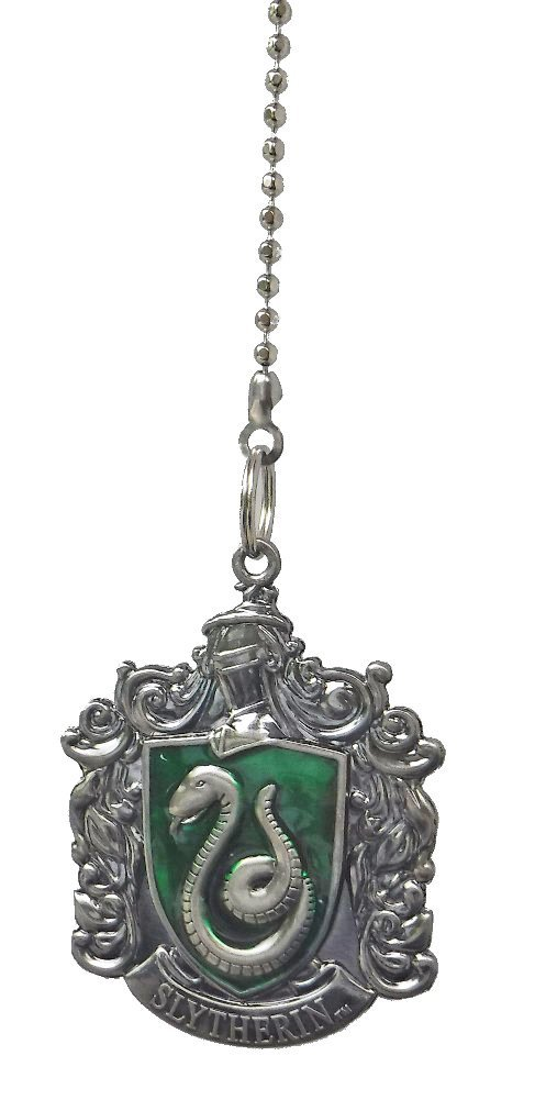 Harry Potter Slytherin House Crest Ceiling Fan Pull