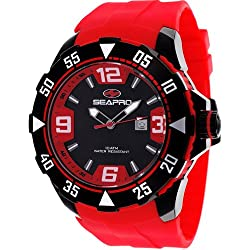 Seapro Men's SP1117 Diver Analog Watch