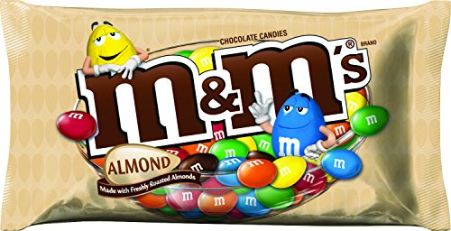 M&M'S Almond Chocolate Candy 9.9-Ounce Bag (Pack of 6) by M&M'S (Image #9)