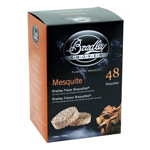 Bradley Smoker BISQUETTES, MESQUITE 48PK