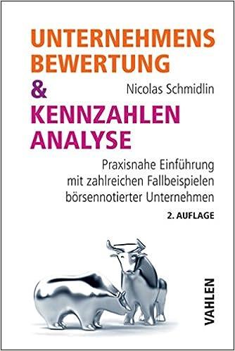 Unternehmensbewertung & Kennzahlenanalyse Pdf