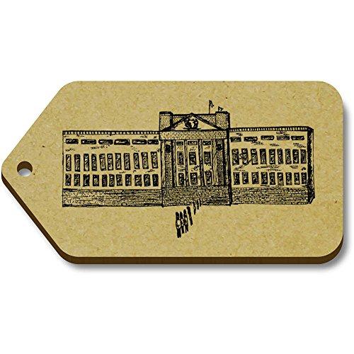 Azeeda Buckingham 66mm 'The 34mm Tag Palace' 10 X regalobagagliotg00007643 mnwyOP8vN0