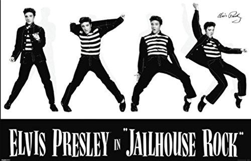 Elvis Presley Jailhouse Rock Poster 12x18 inch