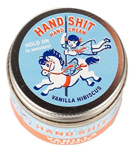 Blue Q Hand Shit Hand Cream - Vanilla Hibiscus (Hand Cream Vanilla)