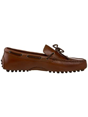 4e64e299619 Amazon.com  Cole Haan Men s Grant Canoe Camp Moccasins PAPAYA 12 ...
