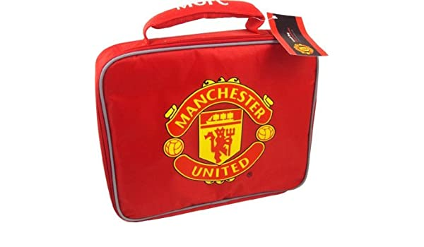 Amazon com: Manchester United Soft Lunch Bag - Red: Baby