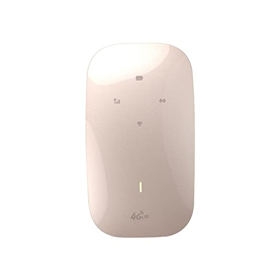 Amazon com: Wireless Modem 4G Wifi Router Portable Mifi FDD-LTE GSM