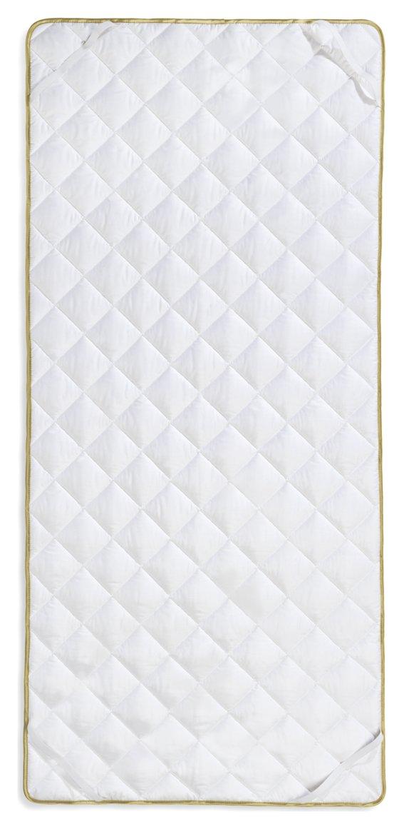 Frau Holle Matratzenauflage aus 100% Schurwolle, 90 x 190 cm, 850 g - 2325-63
