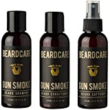 Beard Shampoo, Conditioner and softener set natural growth, beard grooming and skin care Beards, Goatee + Moustache…