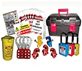 Lockout Tagout Multipurpose Safety Kit -2