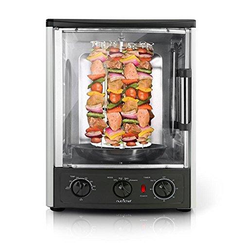 NutriChef AZPKRT97 Rotisserie Oven, Black