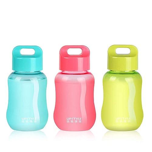 Minibotella de plástico Upstyle, de boca ancha, ideal para realizar deporte o al aire