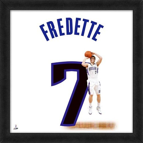 Jimmer Fredette Sacramento Kings 20x20 Framed Uniframe Jersey Photo by Biggsports