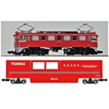Tomix 6433 Track Cleaning Car Red & ED61 Type Set N Scale 1/150