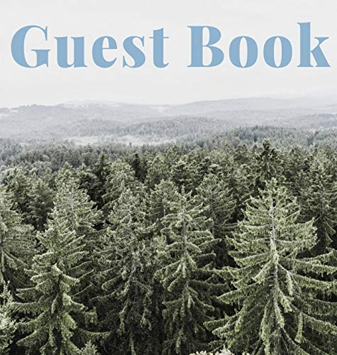 Guest Book (Hardcover): Guest book, air bnb book, visitors book, holiday home, comments book, holiday cottage, rental, vacation guest book, Guest ... home guest book, visitors comments book
