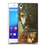 Official HBO Game Of Thrones Tyrion Lannister Character Portraits Soft Gel Case for Sony Xperia Z3+ / Z3 Plus / Z4